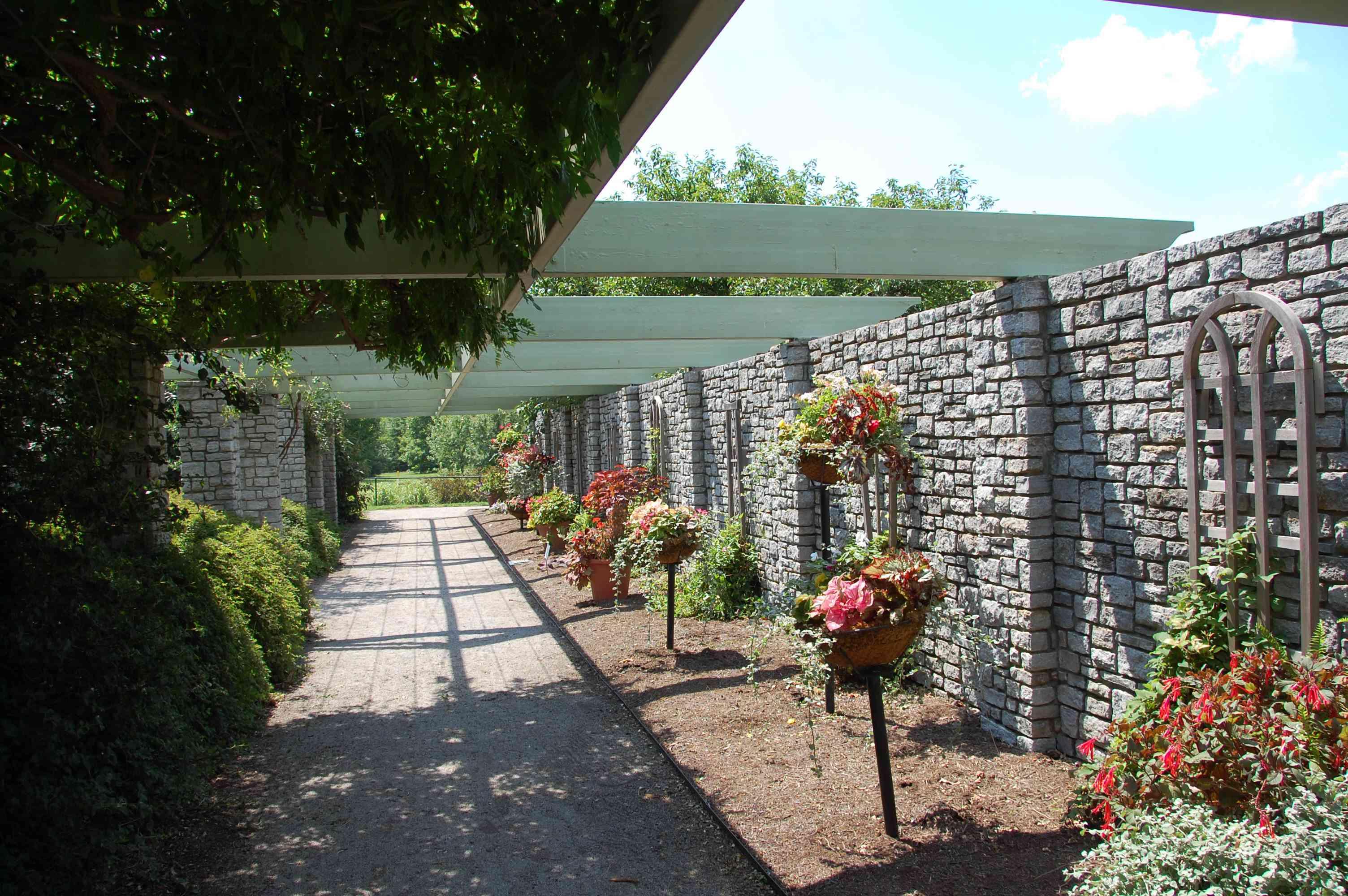 A path at the UK Arboretum in Lexington