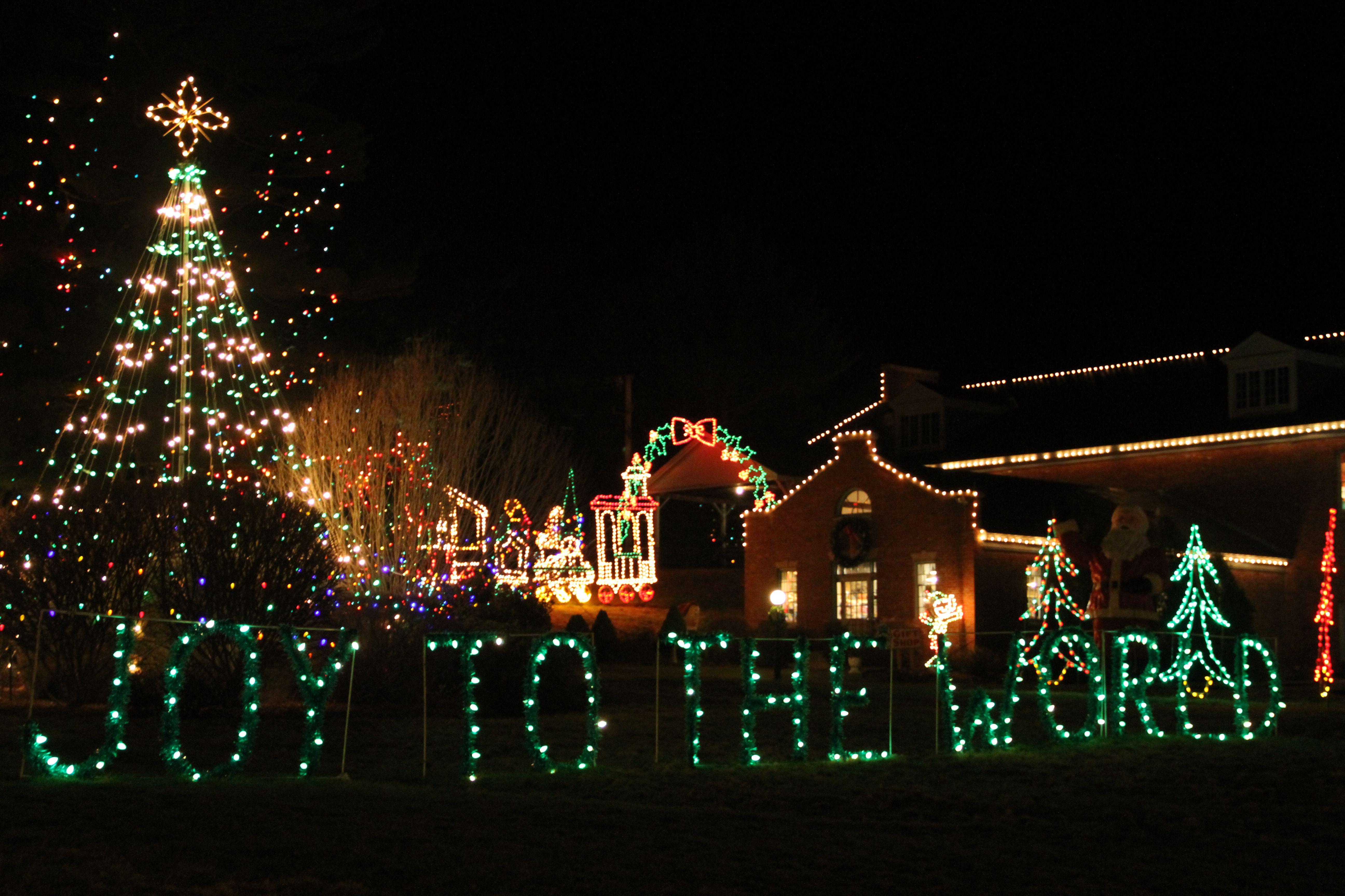 Edaville U.S.A. at Christmas
