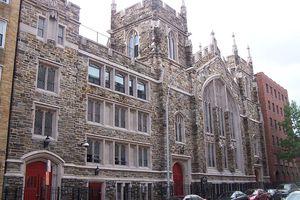Abyssinian Baptist Church, Harlem, New York City, USA