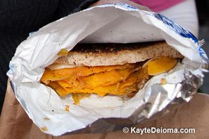 Grilled Cheese Sandwich from the Grilled Cheese Truck