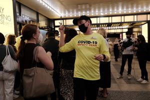 Broadway Reopens After 18-Month Closure Due To Covid Pandemic