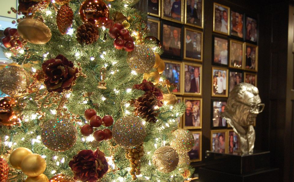 Harry Caray's Christmas tree