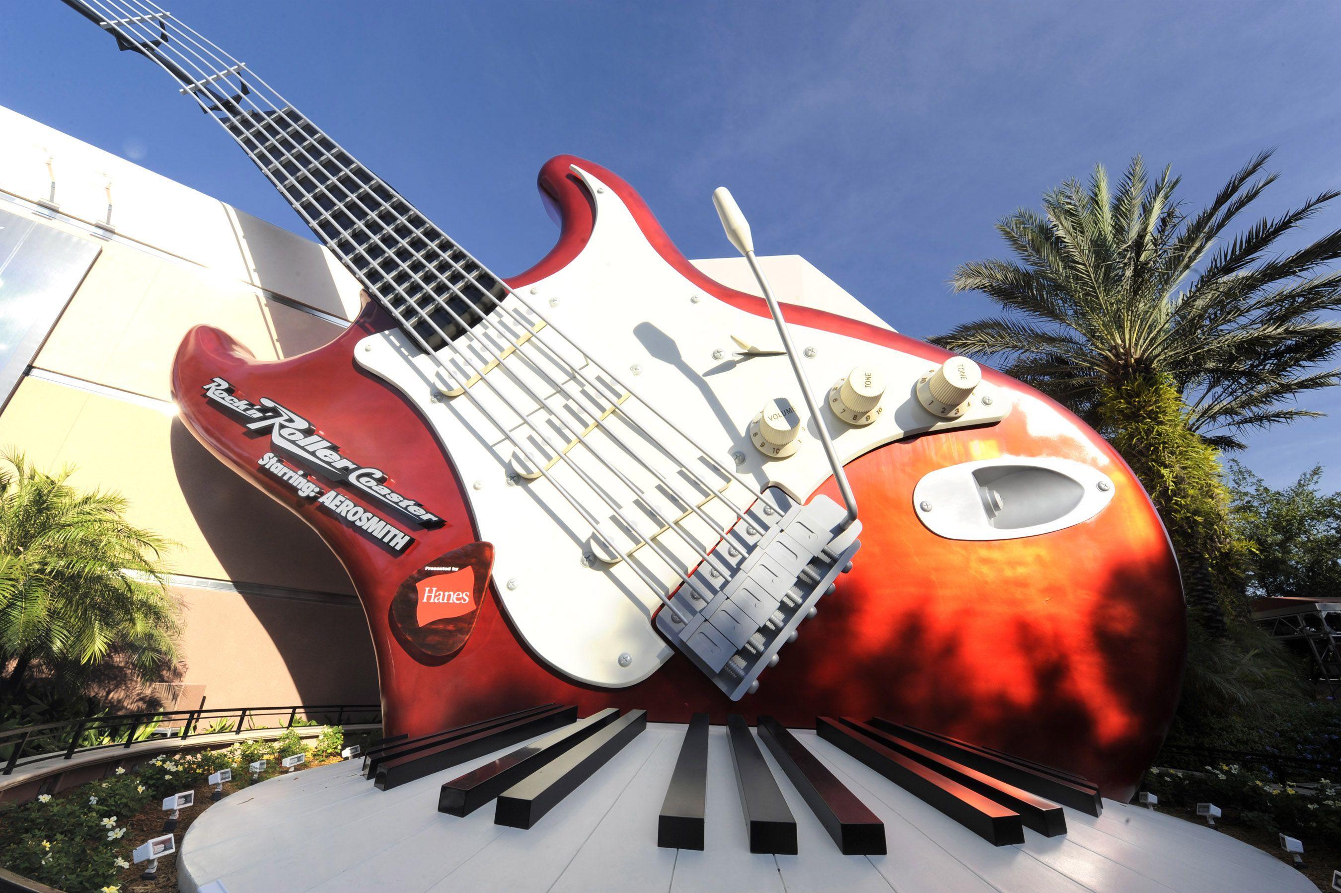 The Rock 'n' Roller Coaster Starring Aerosmith, entrance