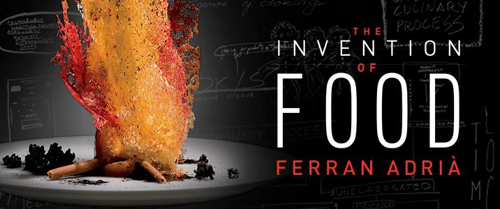 Ferran Adria Invención de alimentos