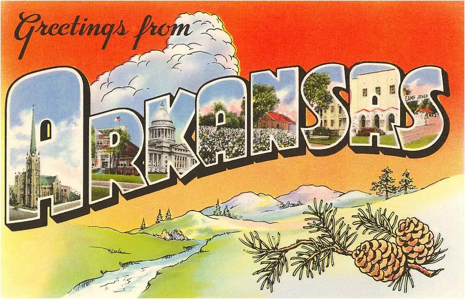 Greetings from Arkansas photo