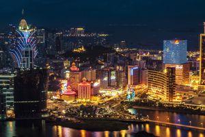 Macao at night