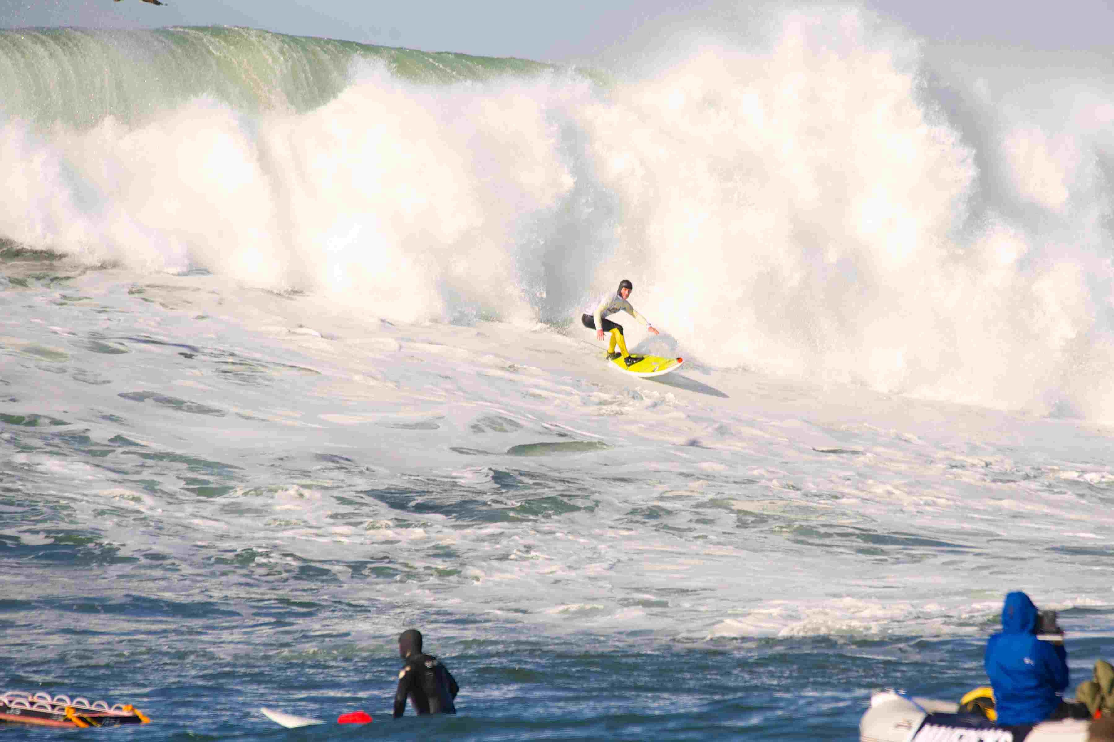 Maverick Invitational surfing contest