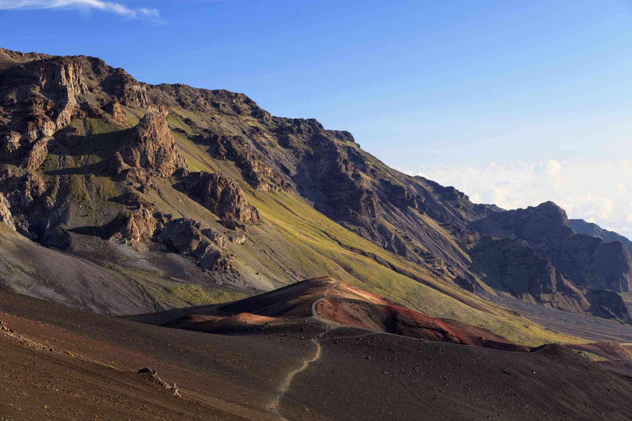 Sliding Sands Trail in Haleakala National Park on Maui