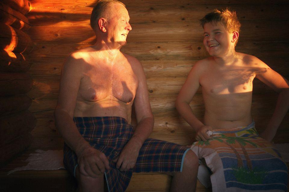 Gerade nackte Jungs aus Finnland — 10