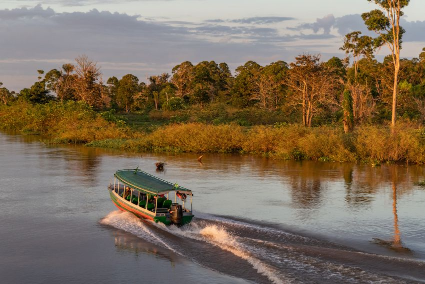 River Cruise on the Amazon River