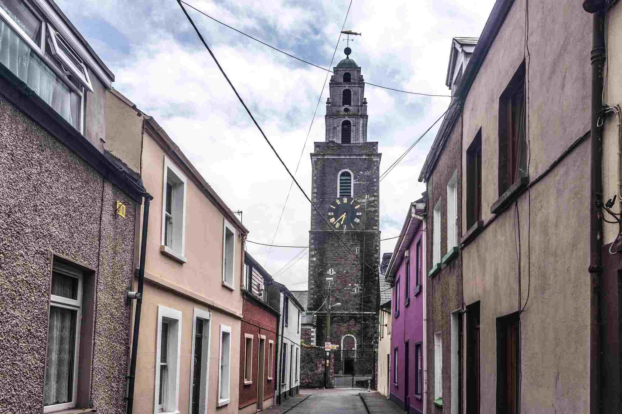 The bell tower of St. Anne's Church in Cork