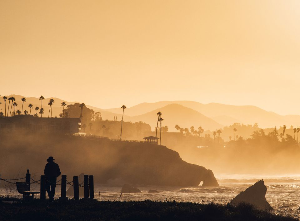 Sunrise at Pismo Beach