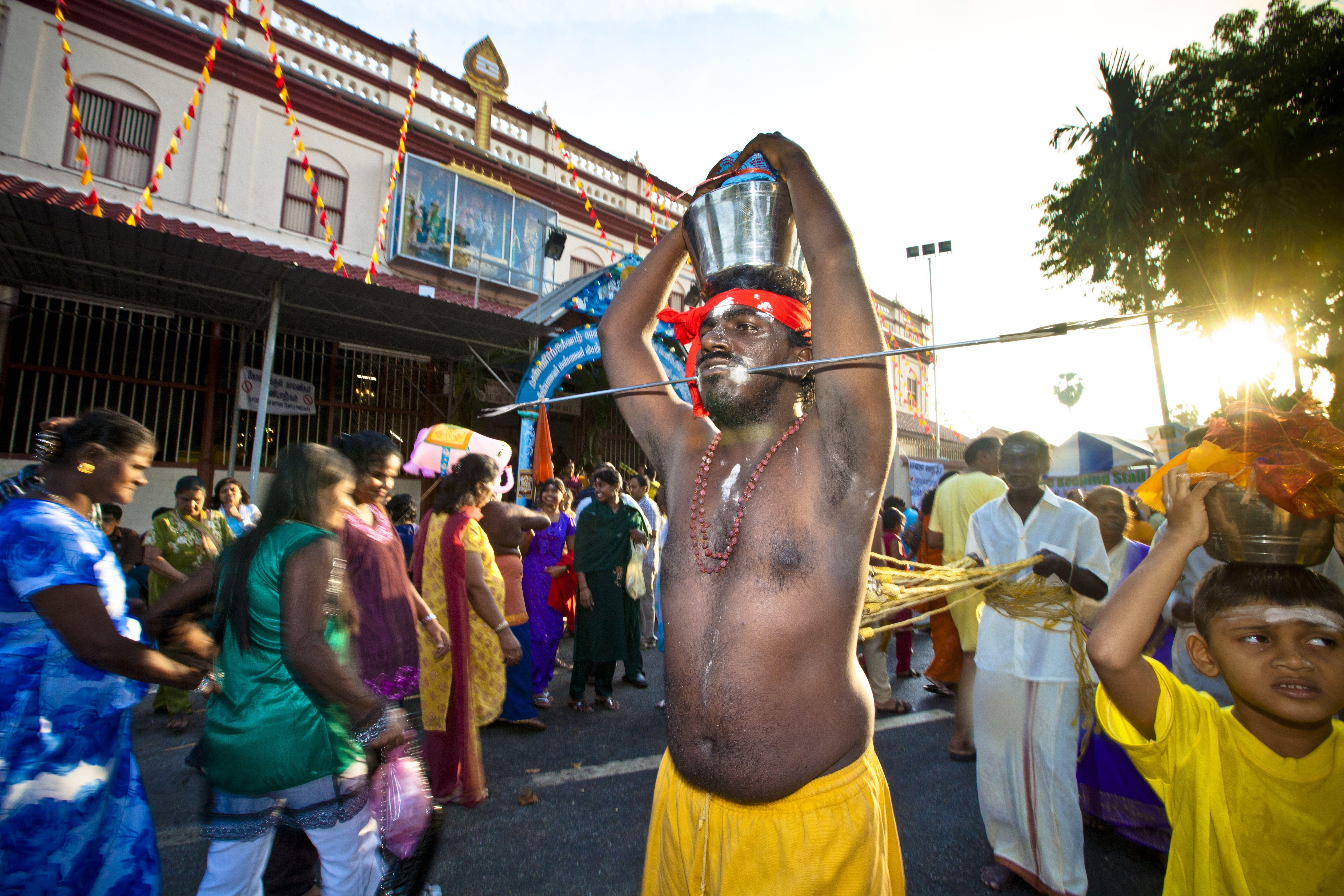 Thaipusam Festival in India
