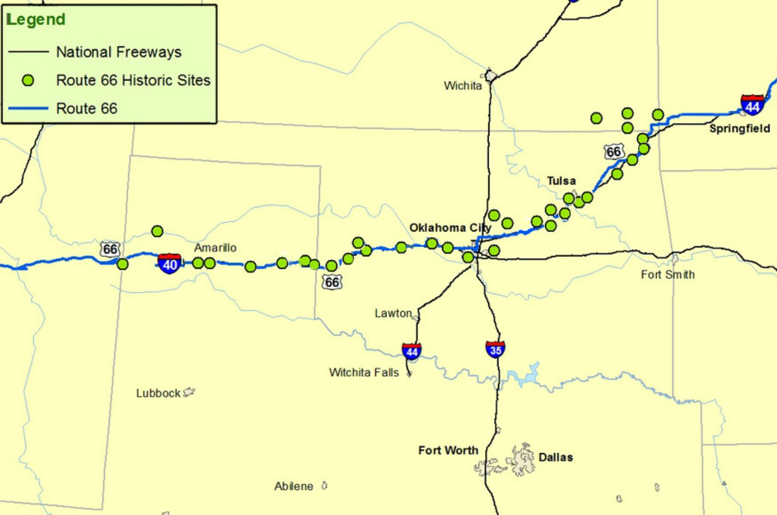 Maps of Route 66: Plan Your Road Trip