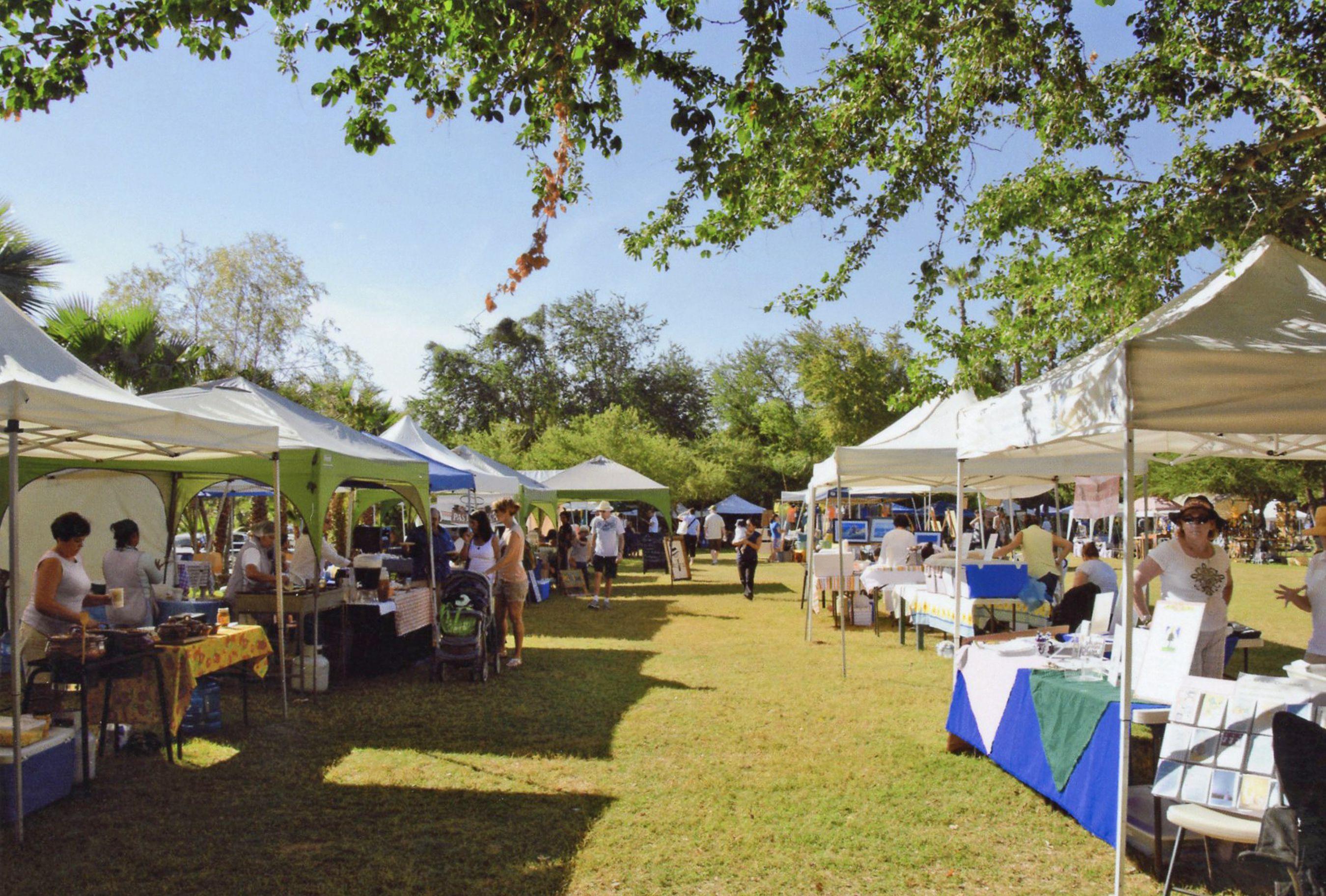 A food fair in Los Cabos