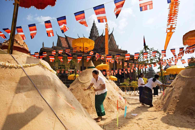Khmer New Year in Cambodia