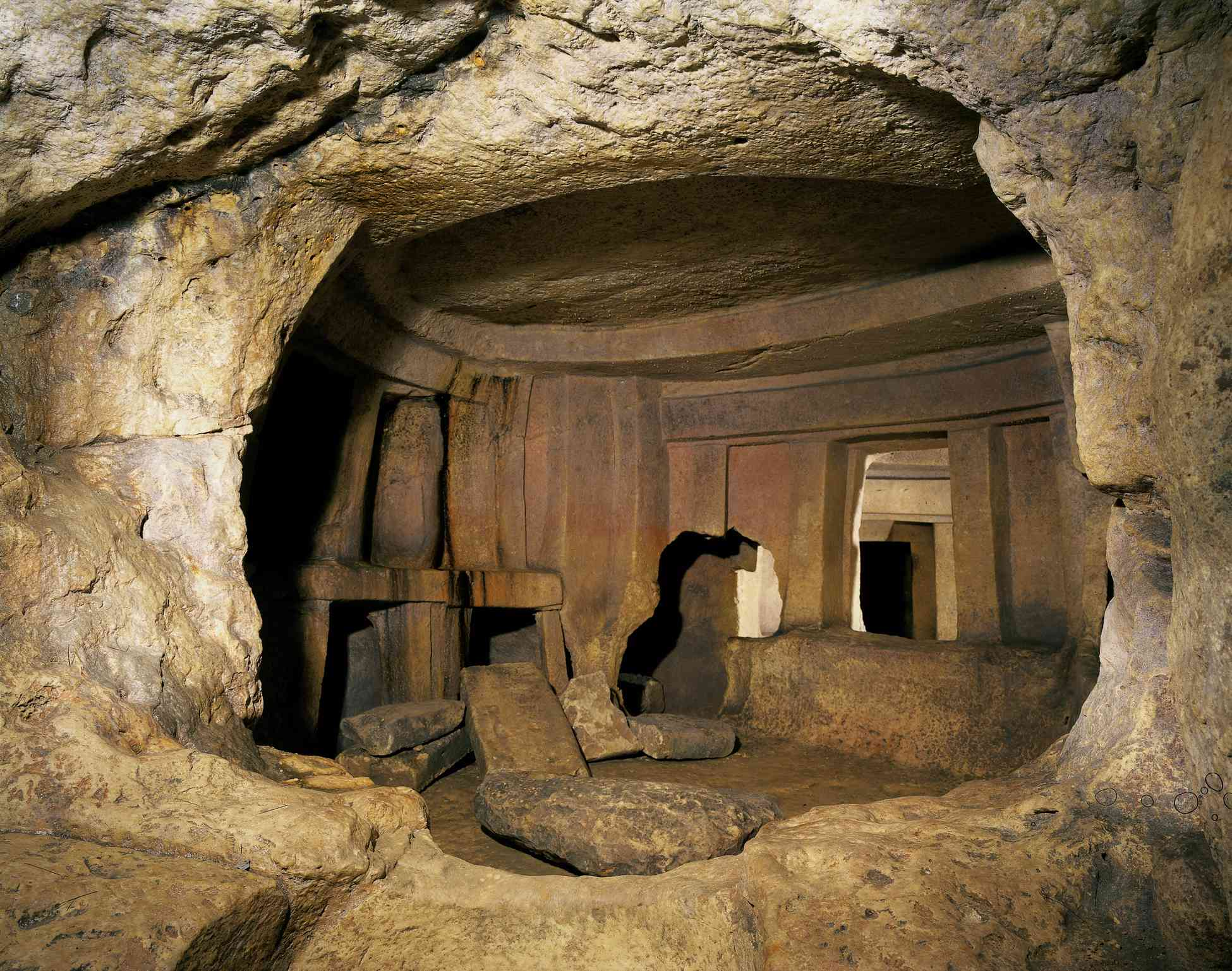 A chamber in the Hypogeum Hal-Saflieni