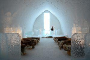 Lumilinna Snow Hotel in Kemi, Finland