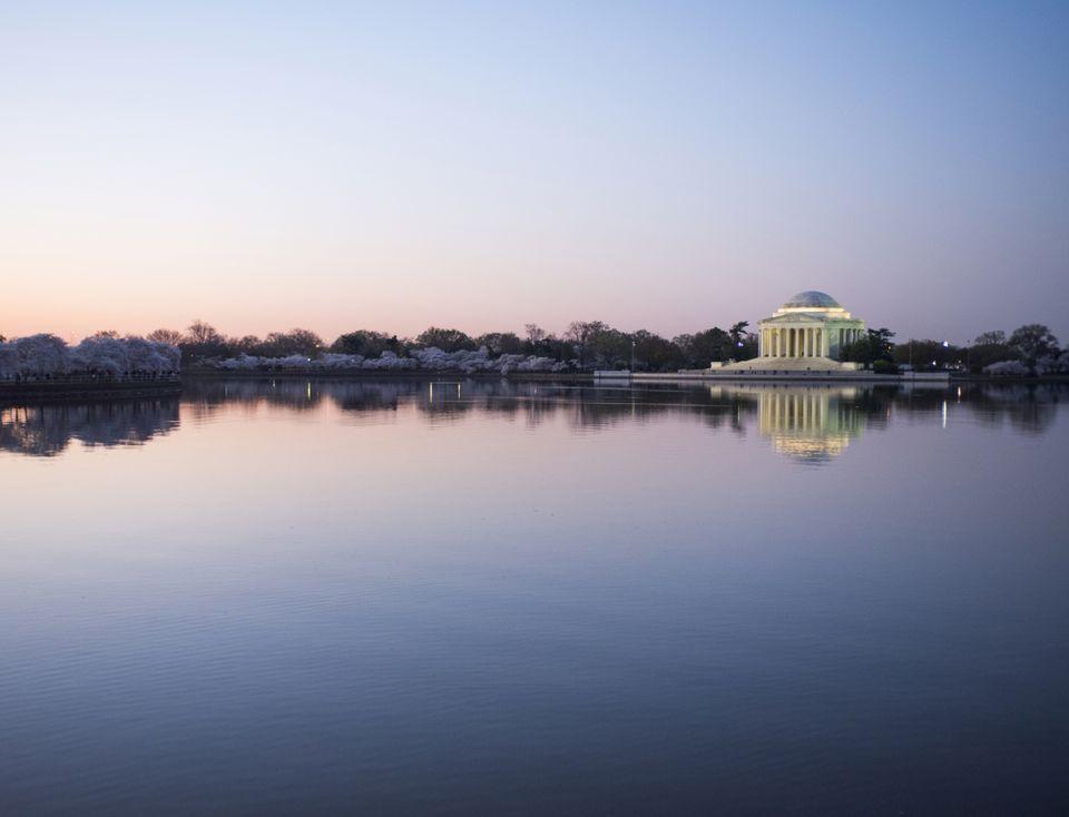 The Thomas Jefferson Memorial and Tidal Basin