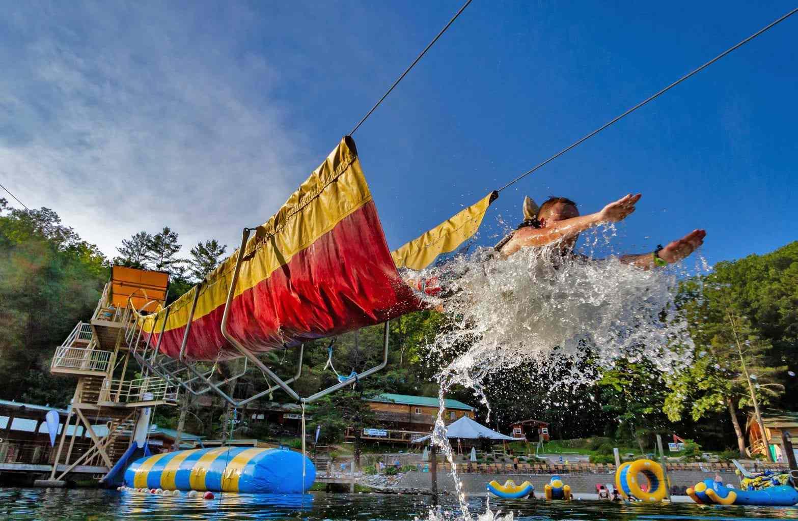 Wonderland Waterpark Ace Adventure Resort West Virginia