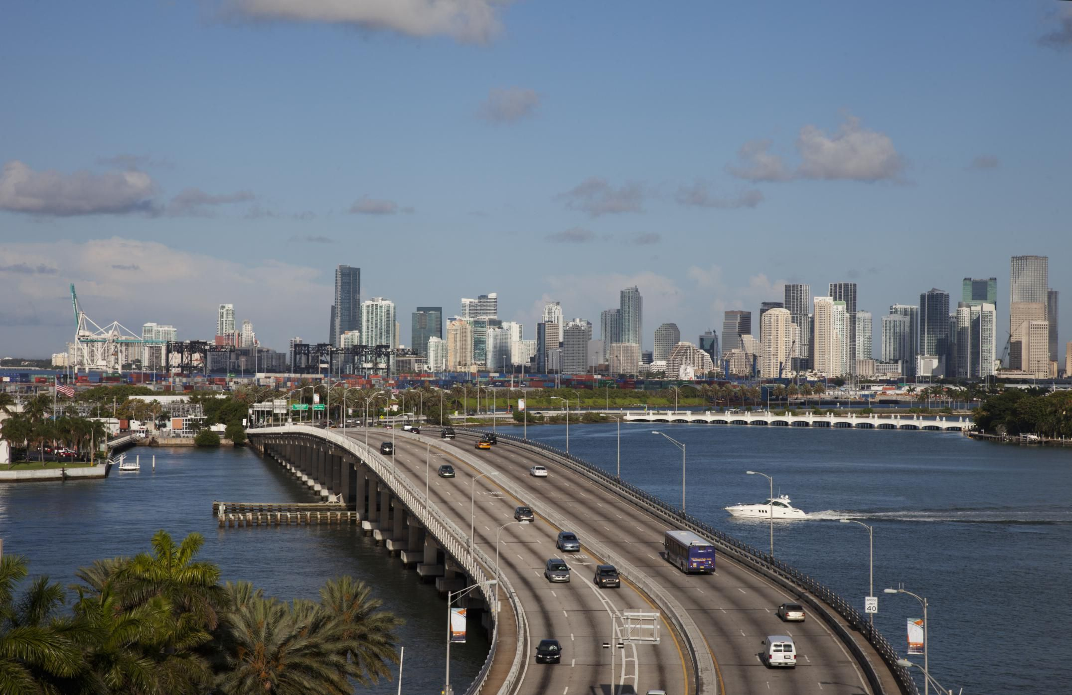 Driving Times and Distances From Miami