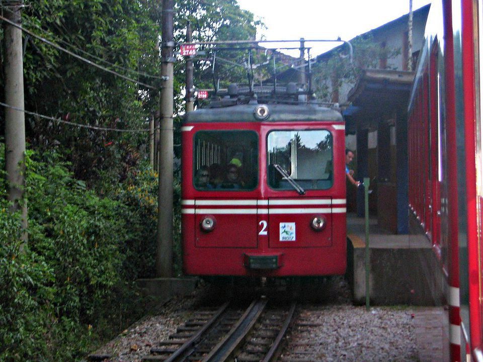 Cogwheel Train Is Best Way to Get to Top of Corcavado Mountain Rio de Janeiro - Entrance to Corcovado Cogwheel Train Station