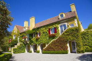 Chateau, Jordan Winery & Vineyard, Sonoma Co., CA