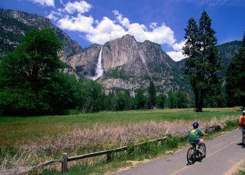 Biking in Yosemite, Yosemite Falls