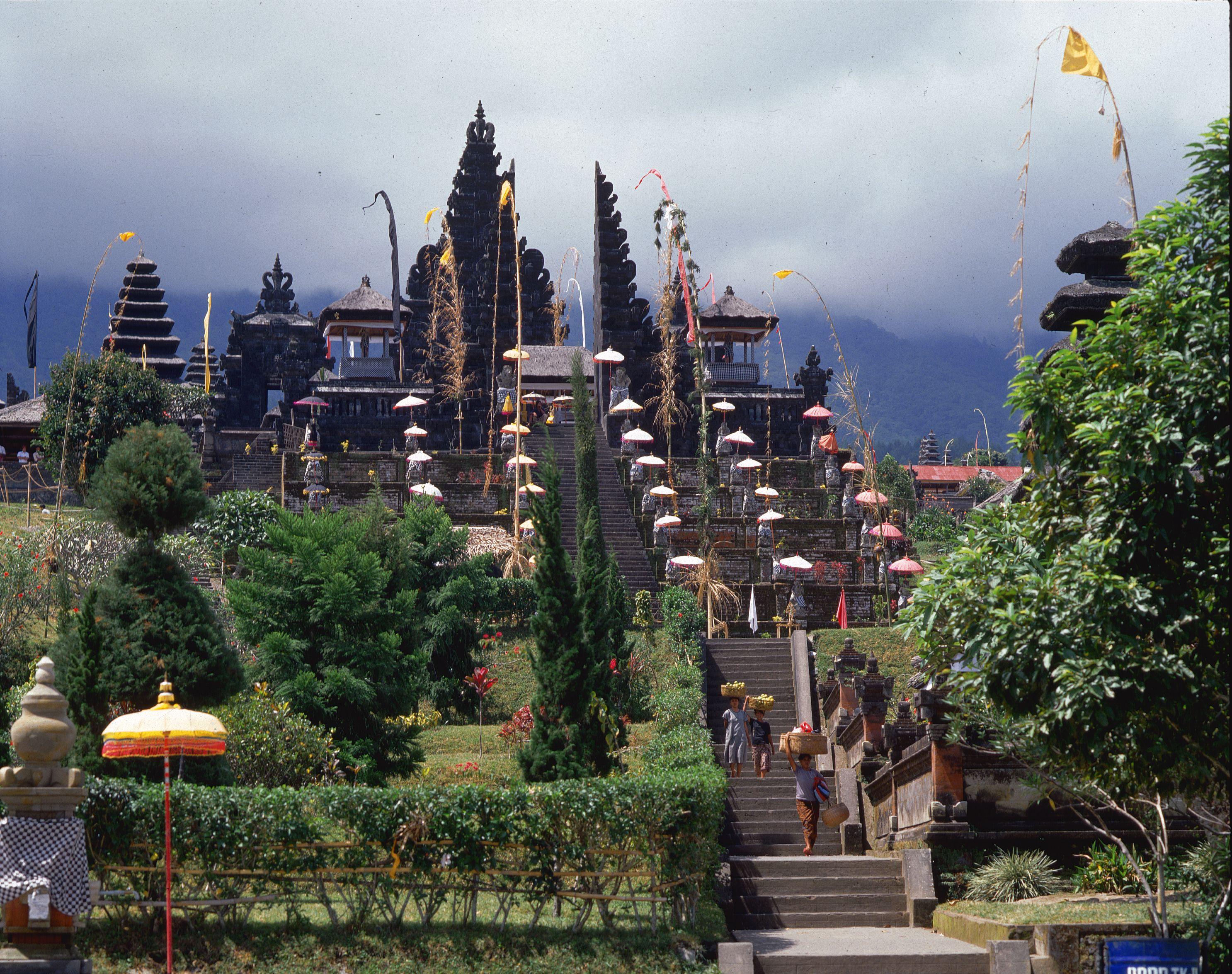 Besakih Temple in Indonesia