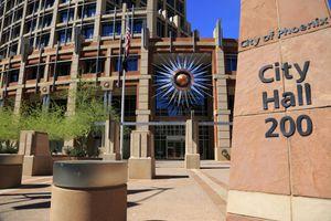 City hall of Phoenix