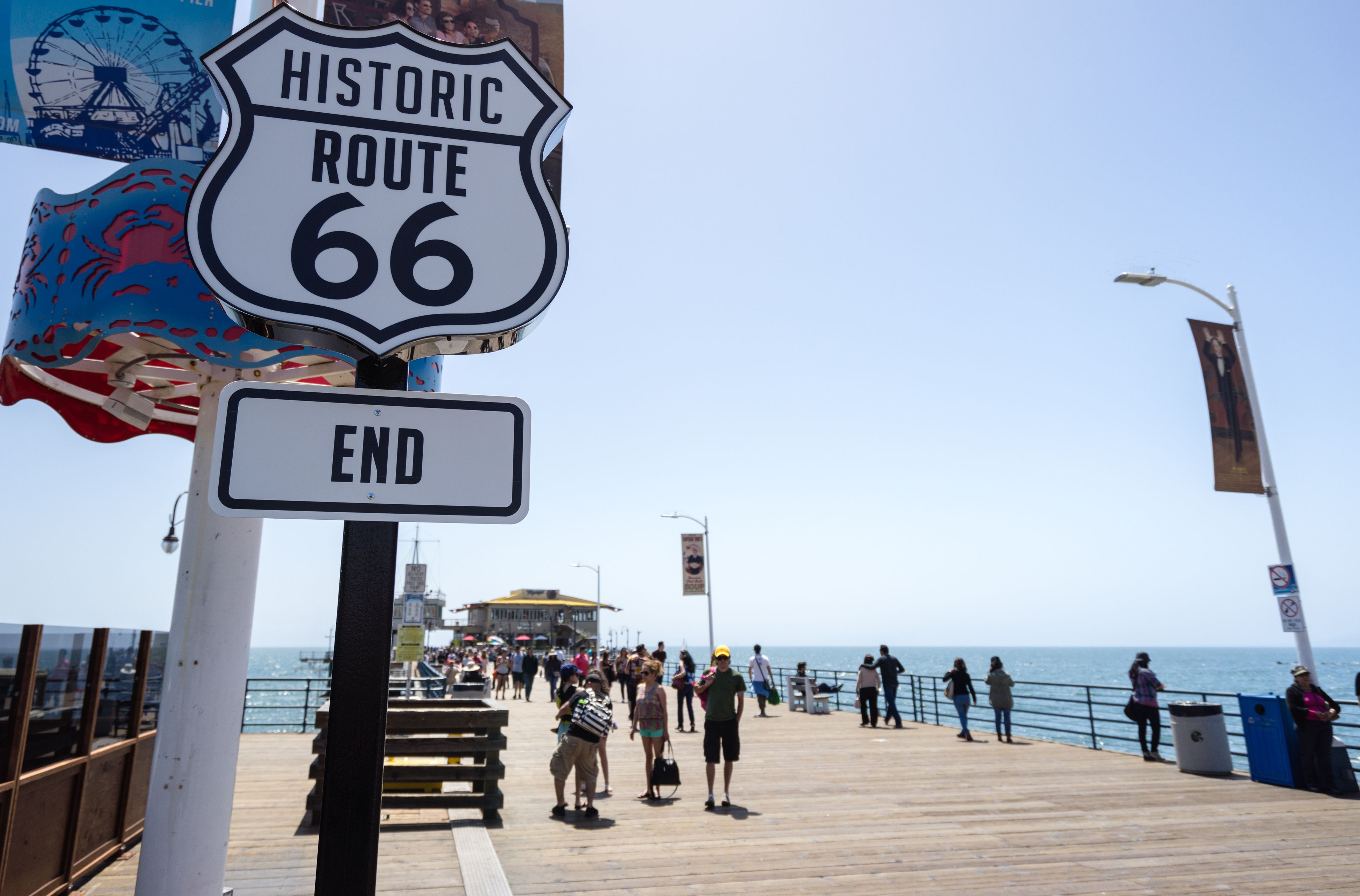 Route 66 in California: Driving Tour and Road Trip on