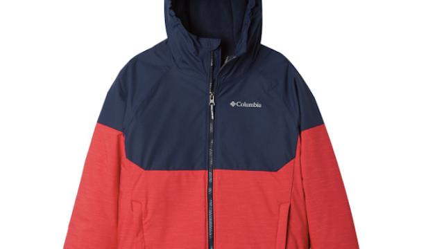 BALEAF Boys Ski Jacket Waterproof Breathable Kids Fleece Lined Windproof Hooded Snowboard Coat