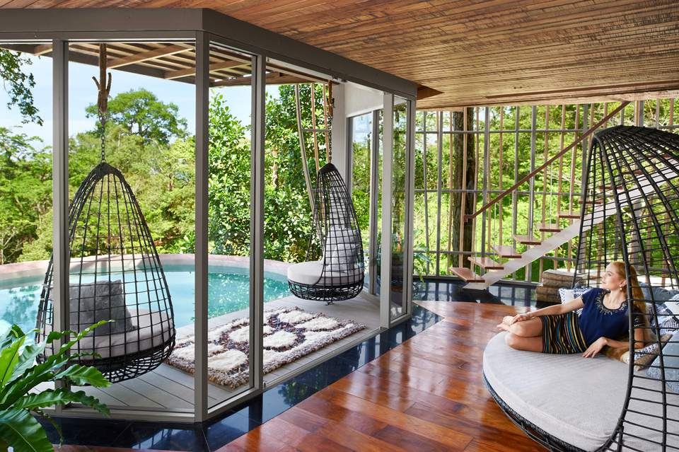 Keemala Phuket Thailand Tree House room and pool