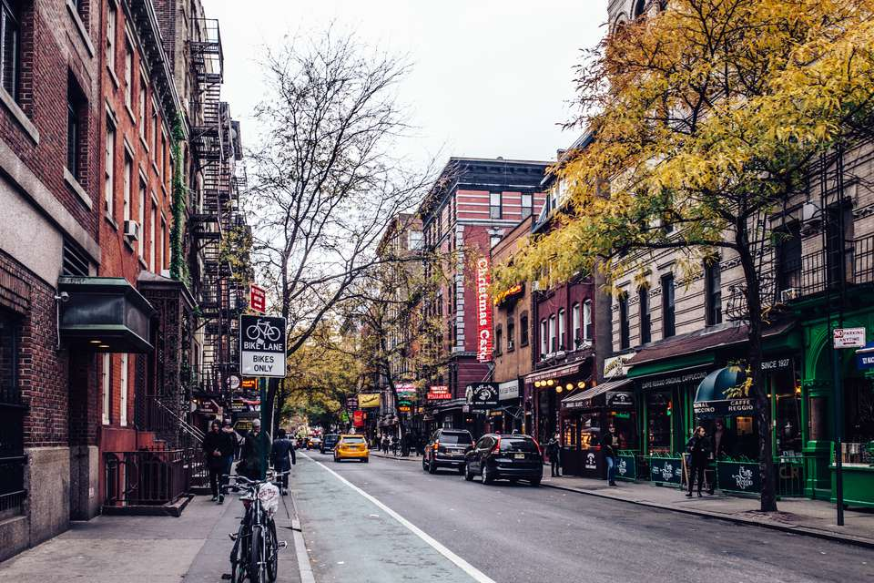 NYC boasts over 45,000 food and beverage options.