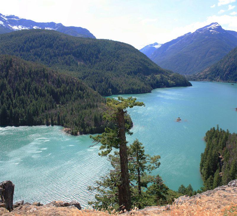 View from Diablo Lake Overlook