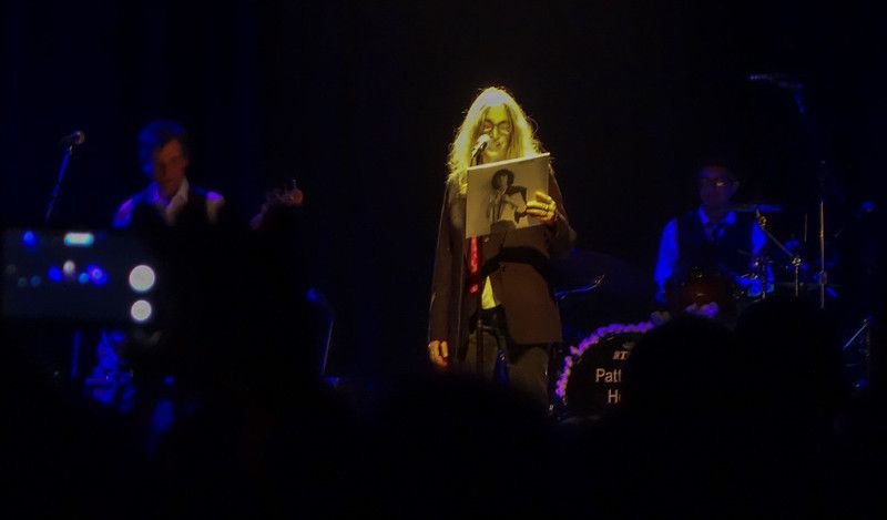 Patti Smith at the Fillmore