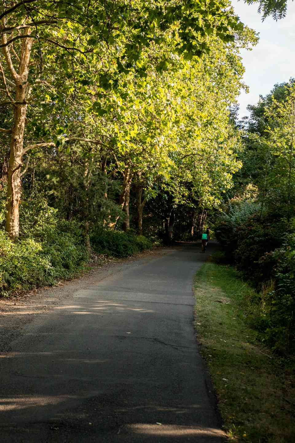 Burke-Gilman Trail in Seattle, Washington