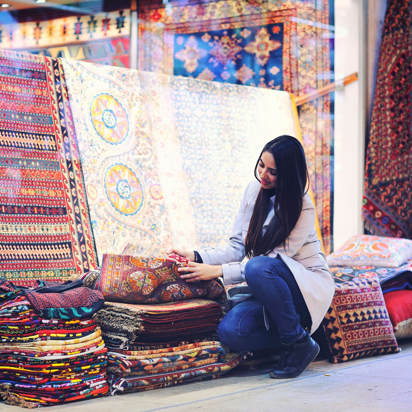 How To A Turkish Rug In Turkey