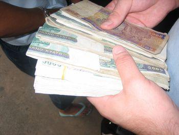 Currency In Myanmar Kyat