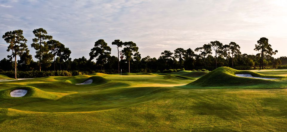 The Dye Course, PGA Golf Club, Florida