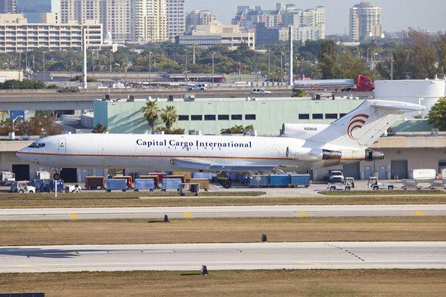 Capitol Cargo plane
