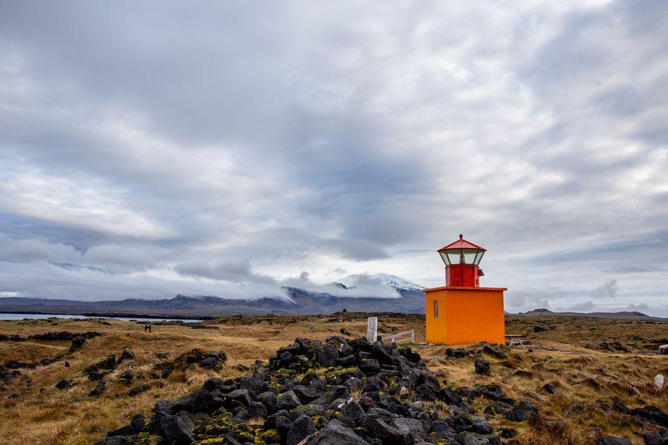 Lighthouse in Snaefellsjokull National Park