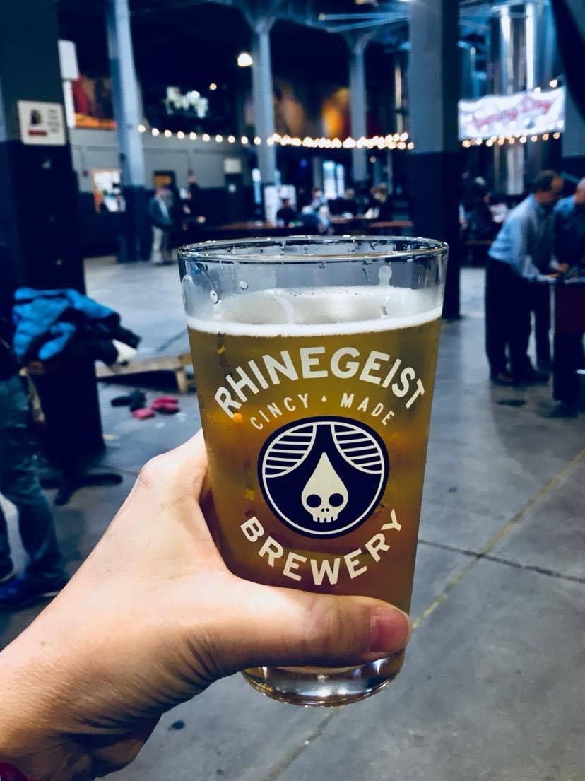Rhinegeist Brewery, Over the Rhine, Cincinnati