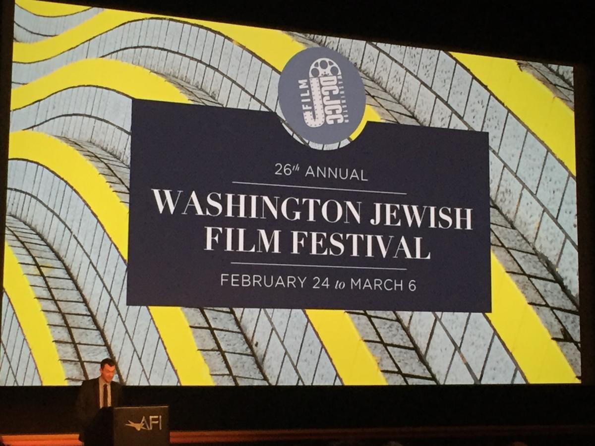 Speaker at the Jewish Film Festival