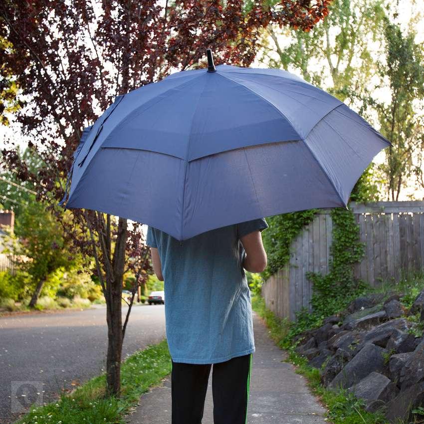 Procella 62-Inch Golf Umbrella Double Vented Canopy