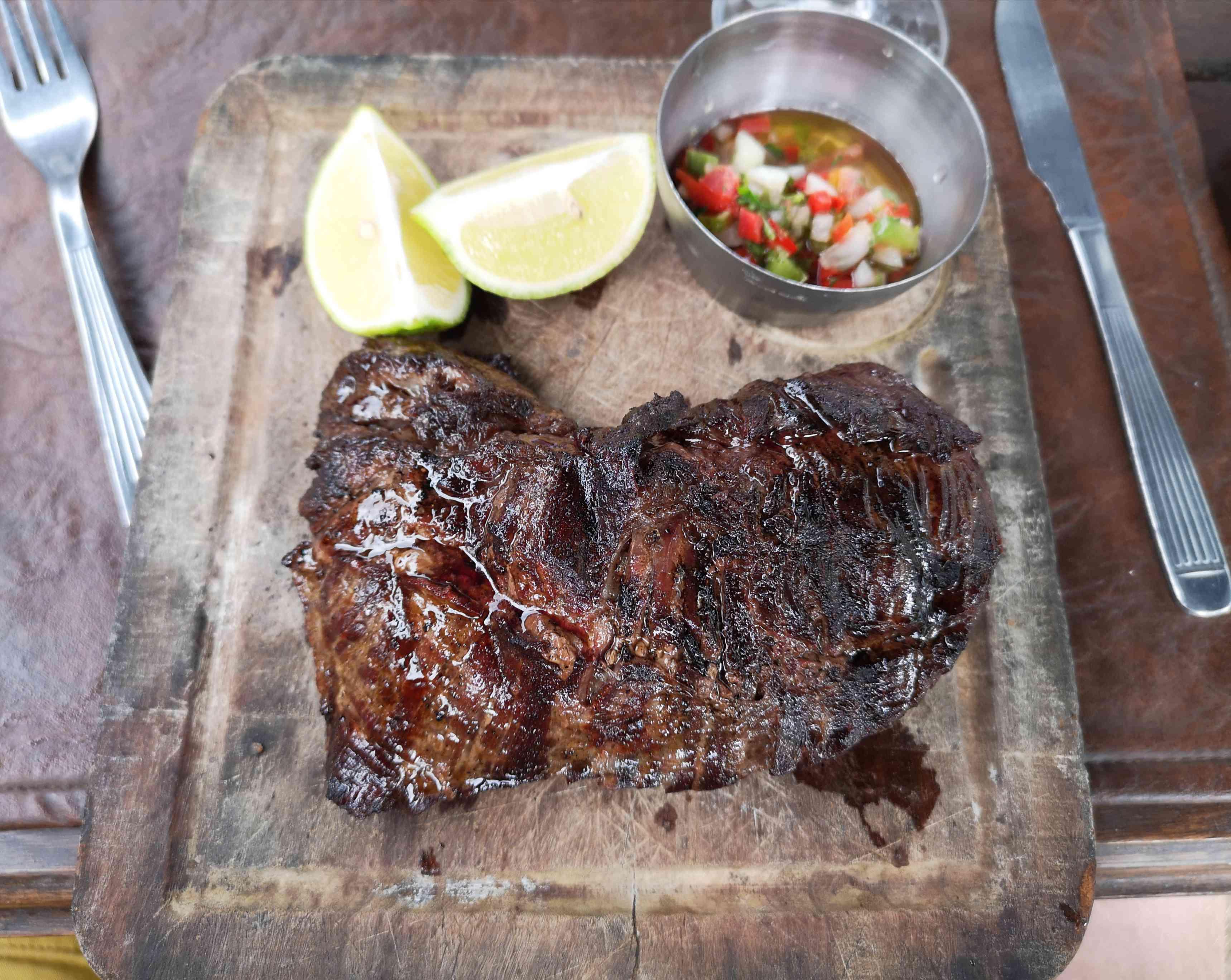 Llama steak