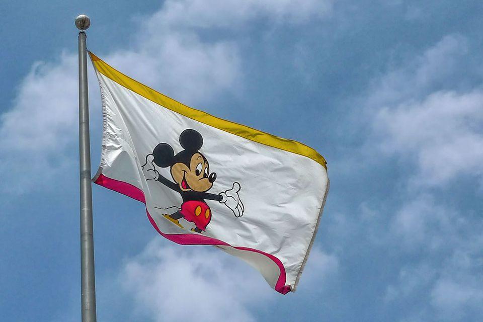 Bandera en los estudios de Disney, Burbank