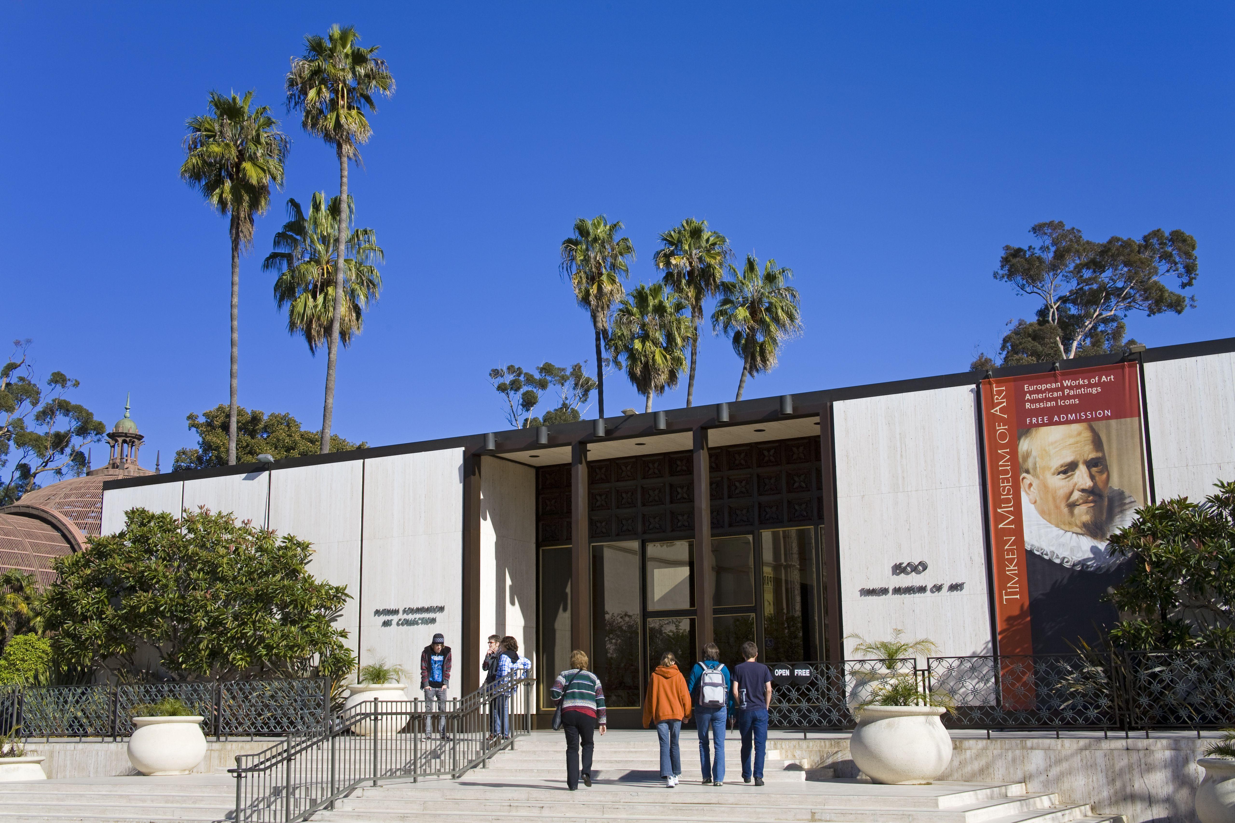 Timken Museum of Art in Balboa Park.