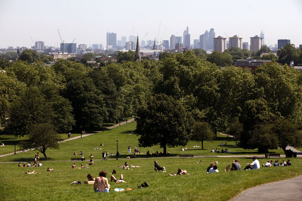 Primrose Hill featured in Bridget Jones: The Edge of Reason