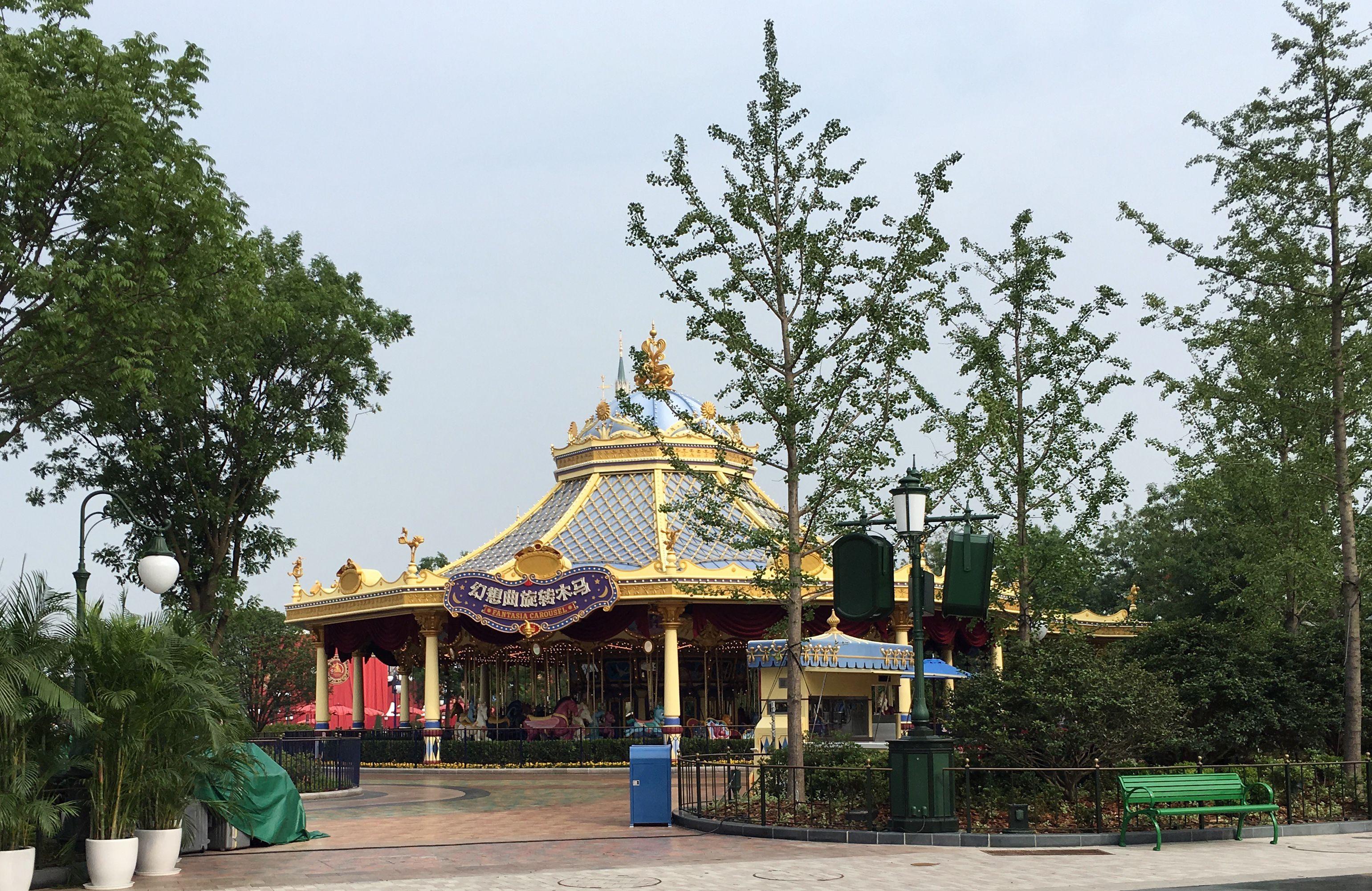 Shanghai Disneyland Gardens of Imagination